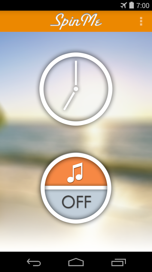 SpinMe Alarm Clock- screenshot