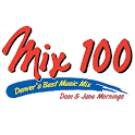 Mix 100 Denver logo