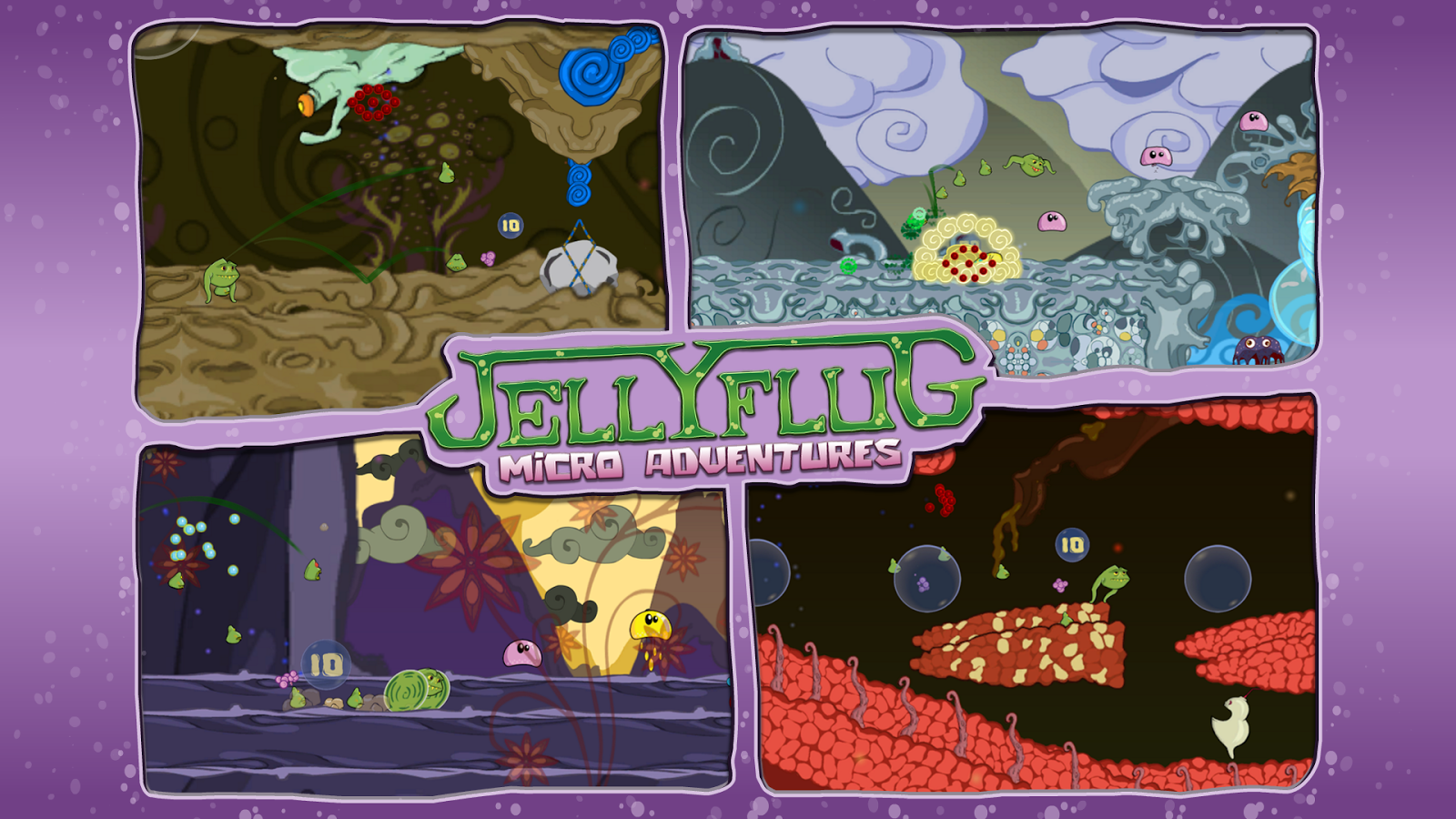Jellyflug Micro Adventures- screenshot