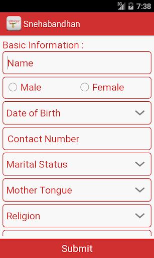 Snehabandhan Matrimonial