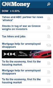 CNNMoney Business and Finance - screenshot thumbnail