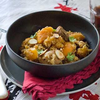 Gluten Free Moroccan Skillet Quinoa and Chicken