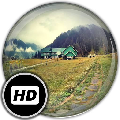 Panorama Wallpaper: Villages