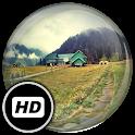 Панорамные обои: Деревни icon