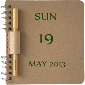 Note Book Calendar