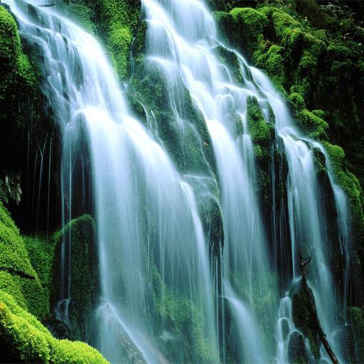 美麗的瀑布壁紙 娛樂 App LOGO-APP試玩