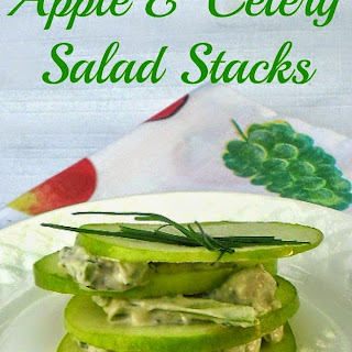 APPLE AND CELERY SALAD STACKS