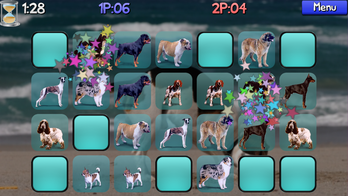 Dog Pairs - Memory Match Game- screenshot