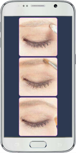 Stylish Eye Makeup in Steps