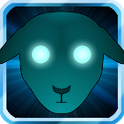 Cyber sheep icon