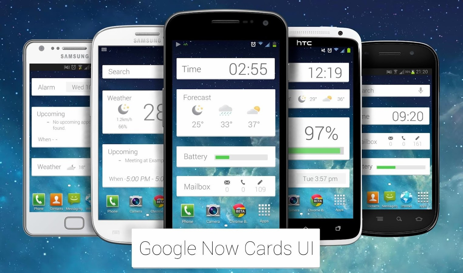 Now Cards UCCW - screenshot