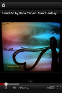 Ilana Yahav - Sand Art - screenshot thumbnail