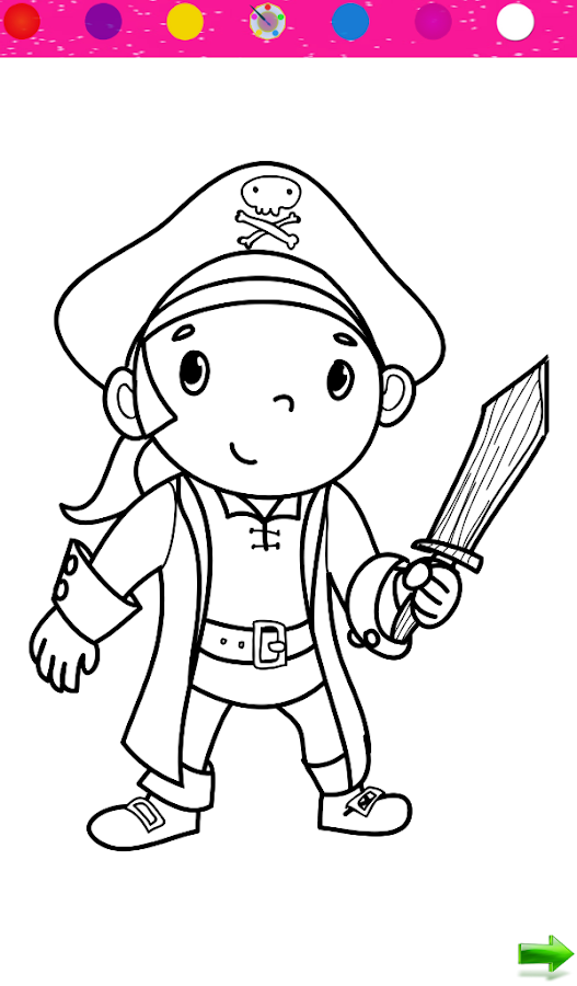 Coloring Kids Pirates Android Apps On Google Play Kid Coloring Apps