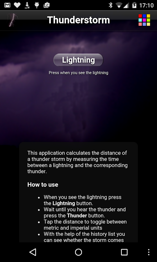 Thunderstorm Free- screenshot