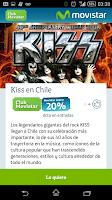 Screenshot of Club Movistar Chile