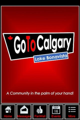 Go To Calgary - Lake Bonavista