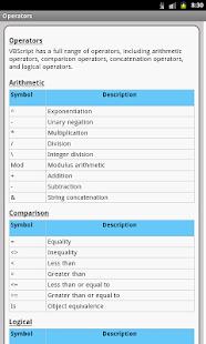 VBScript Pro Free - náhled
