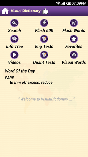 Visual Dictionary for GRE Free
