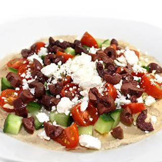 Skinny Greek-Style Hummus Dip