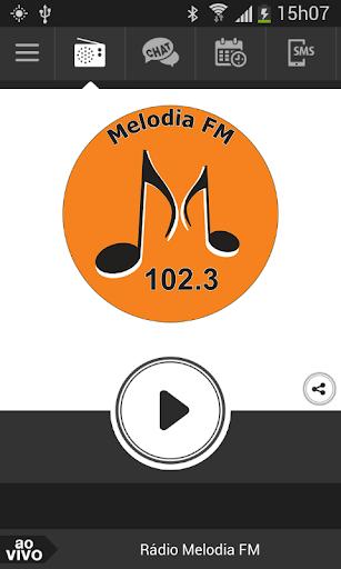 Rádio Melodia FM de Varginha