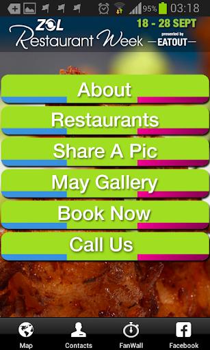 ZOL Restaurant Week - EATOUT
