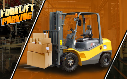 3D forklift parking Madness - screenshot thumbnail