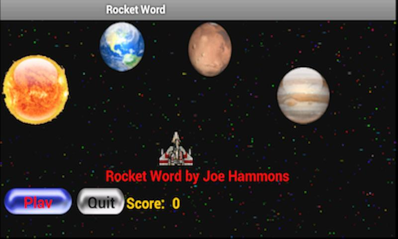 Rocket Word- screenshot