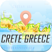 Crete Greece Map