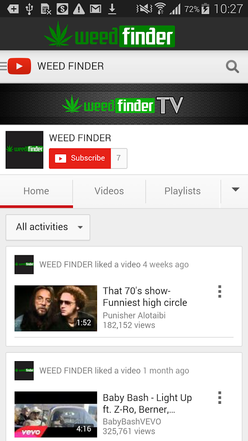 Weed Finder™- screenshot