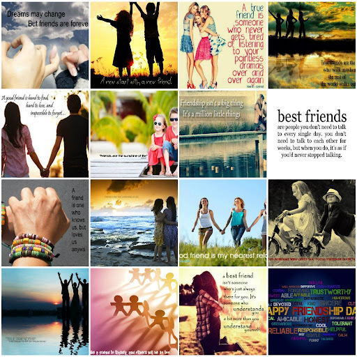 Friendship Quotes Cards