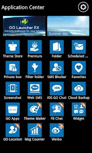 GO SMS Pro WP7 Theme - screenshot thumbnail