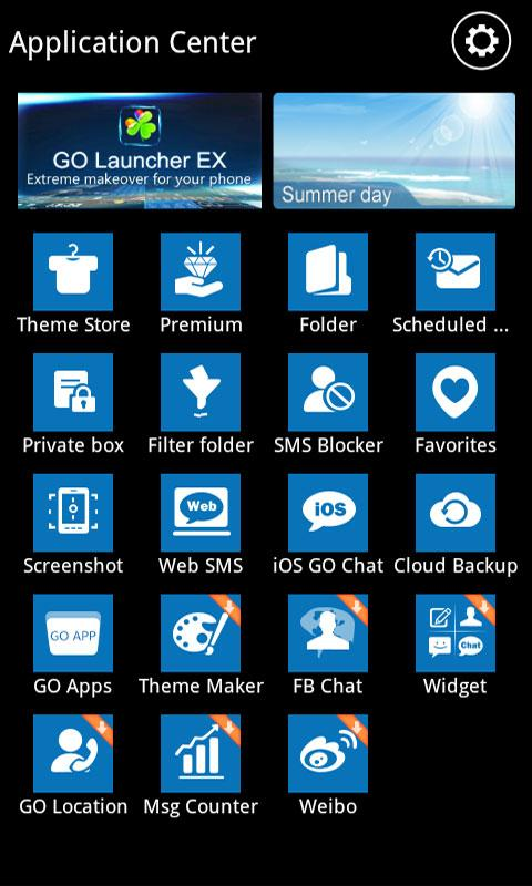 GO SMS Pro WP7 Theme - screenshot