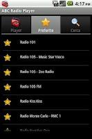 Screenshot of ABC Radio Player