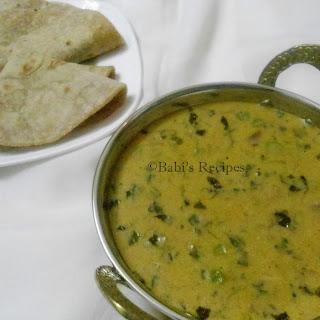 Methi Mattar Malai | Green Peas and Fenugreek Leaves in Cream Sauce | Side Dish for Roti/Naan