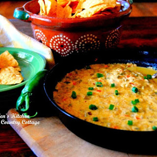 Chilies and Queso Skillet