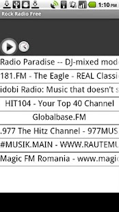 Rock Radio Free - screenshot thumbnail