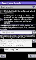 Screenshot of Locale uNagi Settings Plug-in