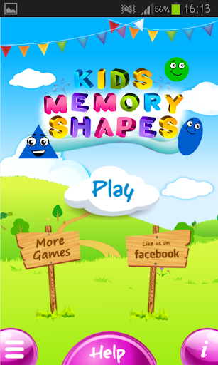 Memory Game Match Shapes