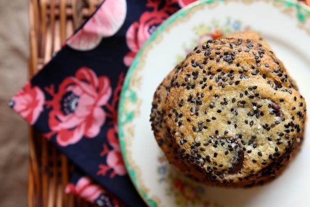 Sesame and Dark Chocolate Chip Cookies