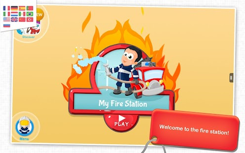 My Fire Station: Game For Kids- screenshot thumbnail