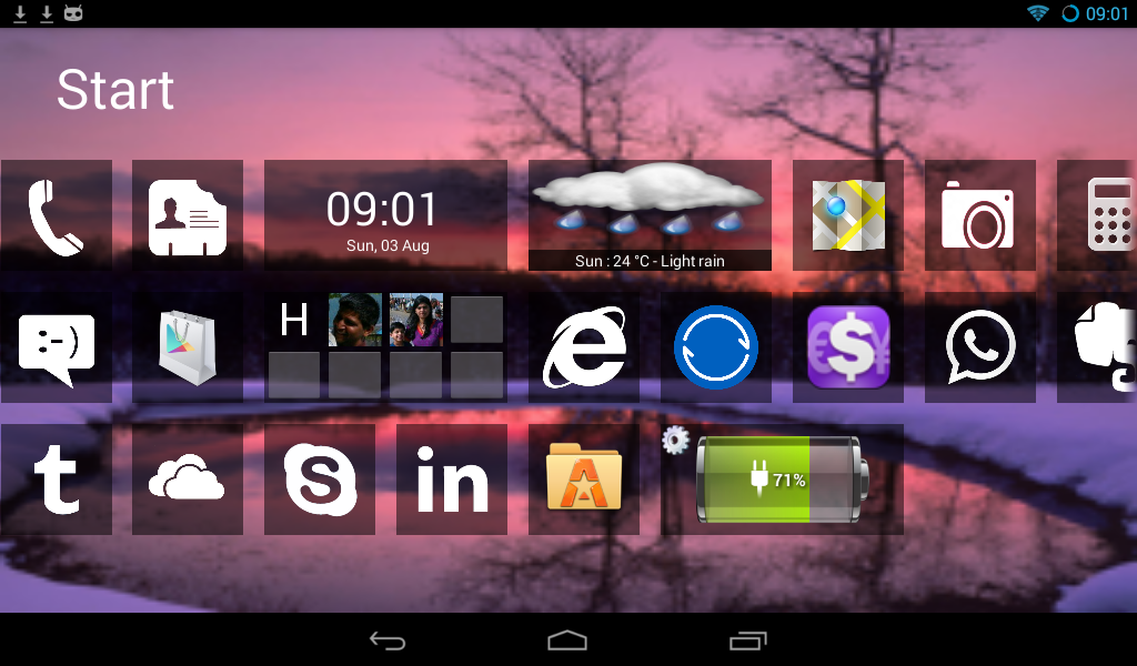 Home10 Launcher- screenshot