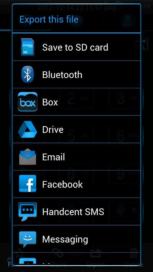 JellyBlueX (free) CM9/CM10 - screenshot