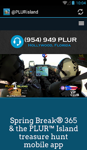 PLUR™ Island mobile app
