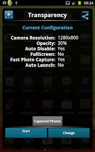 Transparent Phone Camera - screenshot thumbnail