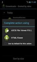 Screenshot of ASCII File Viewer FULL