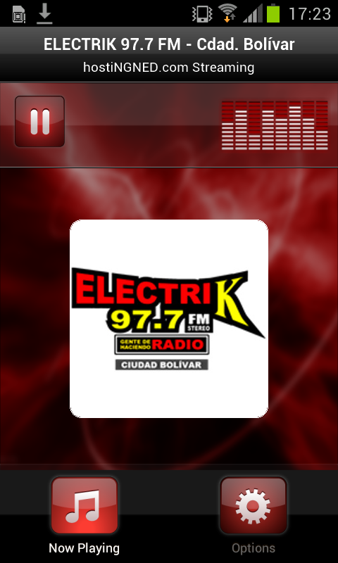 ELECTRIK 97.7 FM Cdad. Bolívar- screenshot