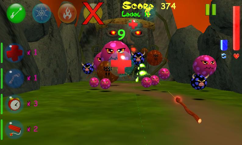 Monster Bubbles Curse (Pang) screenshot #17