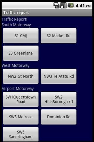 Traffic cam- screenshot