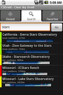 Clear Sky Droid (donate)- screenshot thumbnail