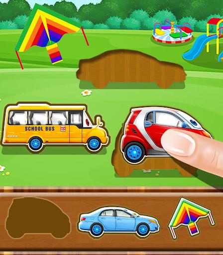 Car Puzzle - Kids Games